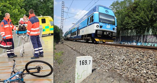 Třináctiletého chlapce cestou na koupaliště smetl vlak: Všechno viděl jeho kamarád