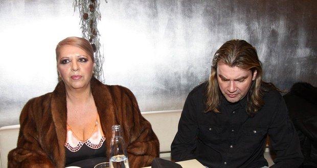 Bývalí manželé Nora a Braňo Mojsejovi