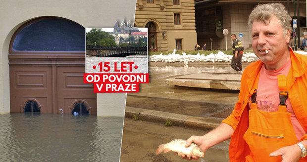 15 let od povodně v Praze. 50 tisíc lidí opustilo domovy  V ulicích ... 62e12f9d40