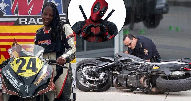 Motocyklová závodnice (†25) se zabila při natáčení hollywoodského trháku!