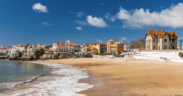 Pláž v Lisabonu