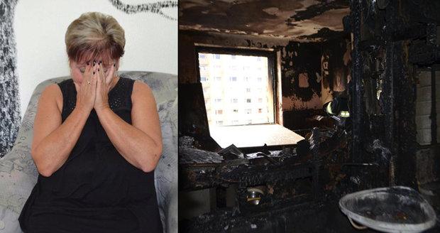 Dáša o uhořelém synovi (†24) a manželovi (†57): Nechtěla jsem kremaci, oheň už zažili!