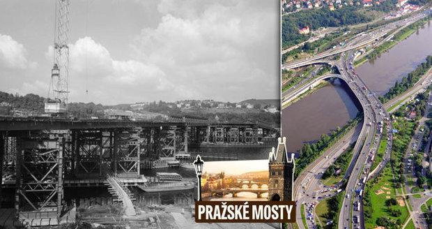 Barrandovskı most slaví 30 let. Už při stavbě s ním pomáhaly počítače