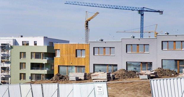 Brno chystá další bytovou výstavbu, tentokrát v Řečkovicích. Ilustrační foto