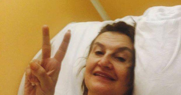 Eva Holubová po operaci