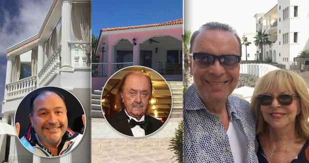 Jak si žijí celebrity ve svých domech v zahraničí?