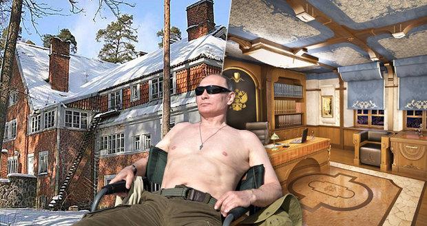 Putinova nová »dača«: O takovém luxusu si můžete nechat jen zdát!