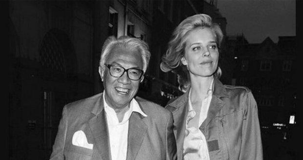 Milionář David Tang a Eva Herzigová