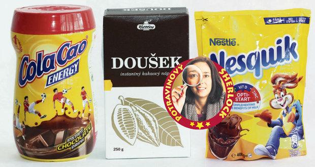 Test instantních kakaových nápojů