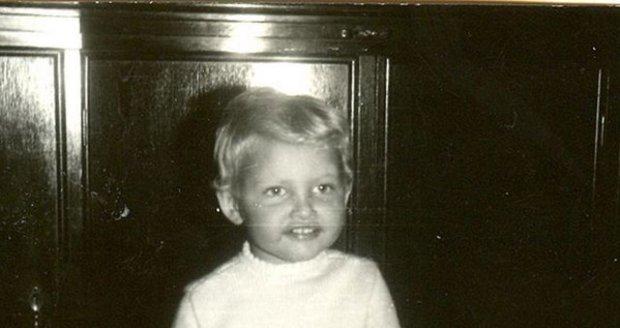 Tereza Maxová ve svých dvou letech