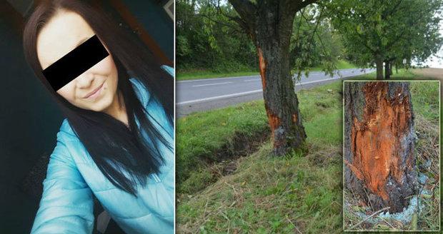Tři mrtví při bouračce na Litoměřicku: Řidička Simona (19) přežila