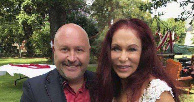 Blanka Matragi s Michalem Davidem