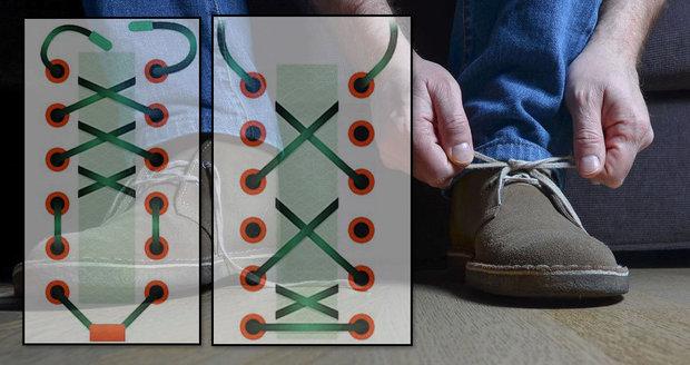 a0a5229a60 Nesedí vám boty  Vyřeší to tkaničky! Podívejte se na 10 triků