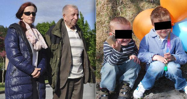Nemocný dědeček Michalákových touží ještě vidět své vnuky. Blesku poslal dojemný vzkaz