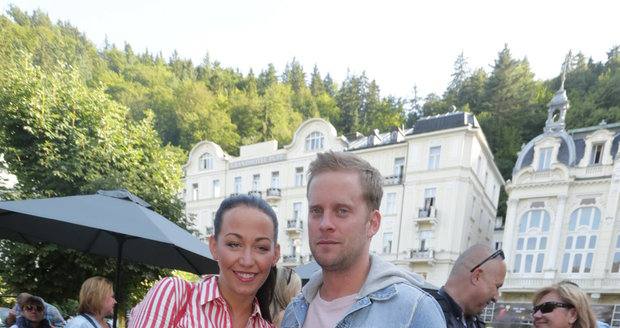 Jakub Prachař s Agátou