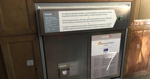 Radnice Prahy 2 má nový babybox. Za 300 tisíc korun, je nabitý novými technologiemi