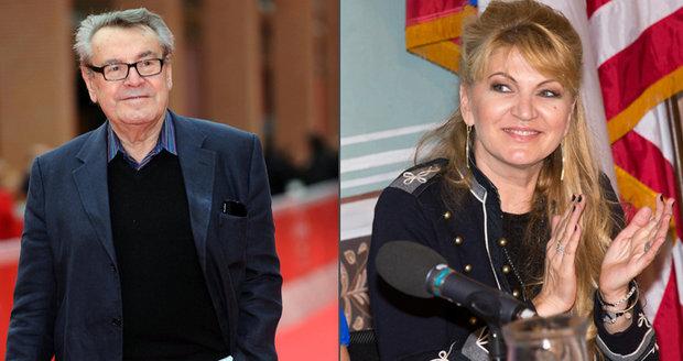 Smutná slova Formanovy manželky: Miloš už do Česka nikdy nepřijede