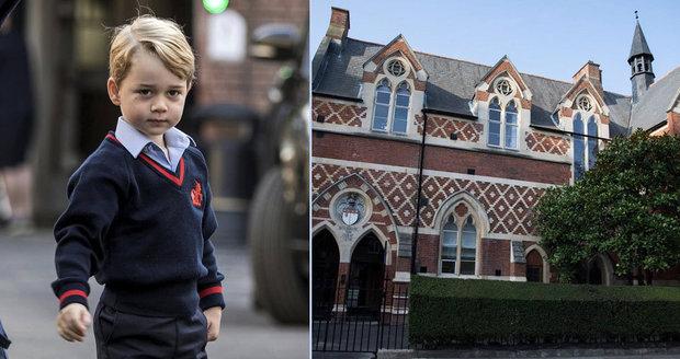 Princátko George (4) je školák: Čeká na něj šerm, balet i luxusní biojídelna!