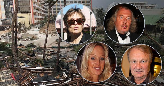 Slavní Češi a Slováci žijící na Floridě mají nahnáno z hurikánu Irma.