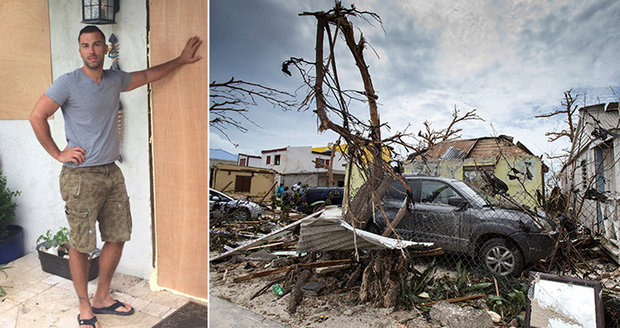 Češi neutekli před hurikánem: Krajanům v USA půjde v noci o život!