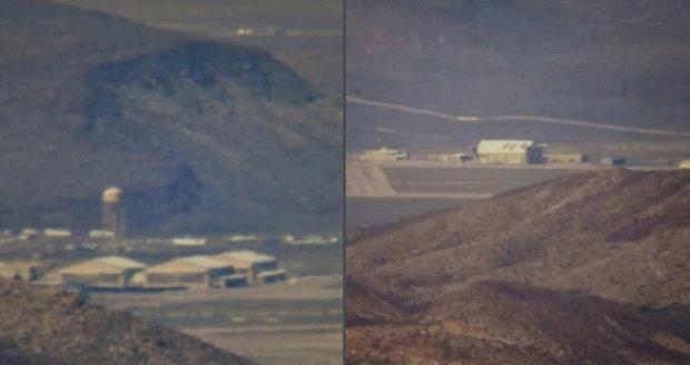 Tajemná Oblast 51: Na internet se dostaly unikátní záběry od lovců UFO! Jak to tam vypadá?