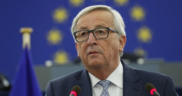 Uprchlíky potřebujeme, vyzval Juncker. A Češi musí mít v čokoládě více kakaa, dodal