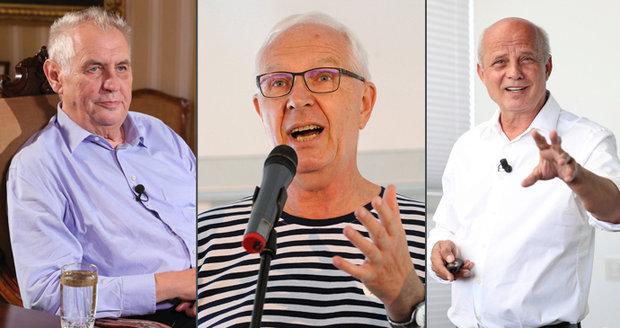 Výsledky 1. kola prezidentských voleb: Zeman jasný vítěz. Vyzve ho Drahoš