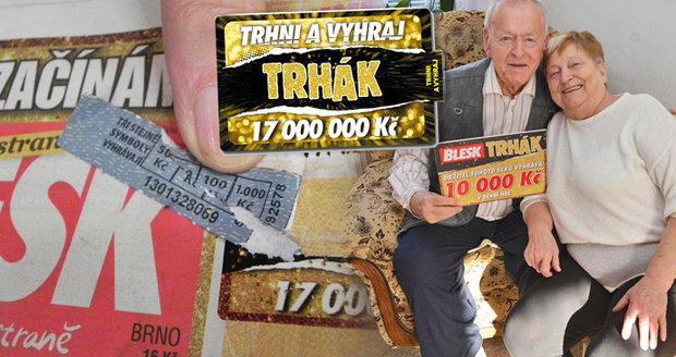 9e64f7d24 Superhra Blesku je zpátky: Trhni a vyhraj! Denně až 100 tisíc na ...
