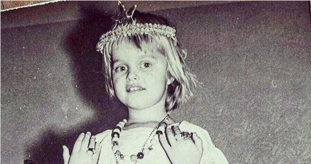 Helena Houdová jako malé dítě