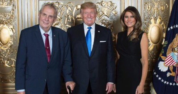 Splněný sen Zemana i jeho hůlky: Konečně se setkal s Trumpem. A Putin ho pozval do Soči
