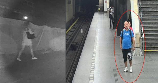 Policie pátrá po muži, který měl přepadnout v Praze ženu, když šla domů z metra.