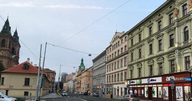 Štefánikova ulice v Praze 5