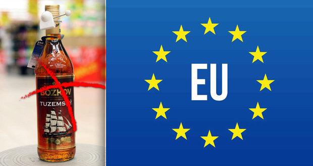 """""""Rumové aroma není rakovinotvorné."""" Potravináři vzdorují bruselskému zákazu tuzemáku"""