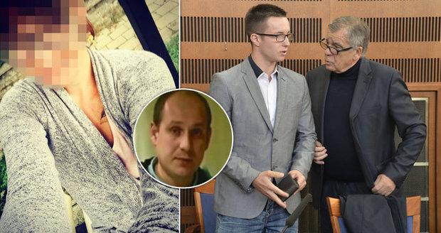 Milenka vyšetřovatele Nečesaného: K soudu nedorazila, Facebook ale plní selfíčky