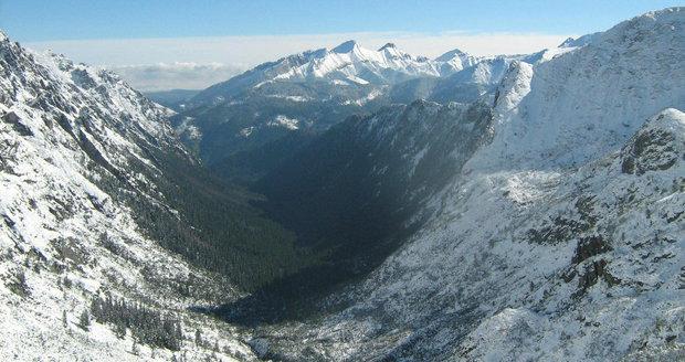 Údolí Roztoki v polských Vysokých Tatrách