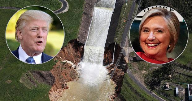 Po hurikánu jsou v Karibiku bez vody a proudu. Clintonová žádá Trumpa: Konejte!