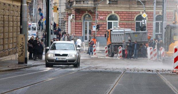 Mezi Otakarovou a Albertovem pojedou o víkendu tramvaje jinak (ilustrační foto).