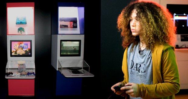 Výstava Game on nabízí možnost zahrát si nejrůznější světově uznávané videohry napříč časem.