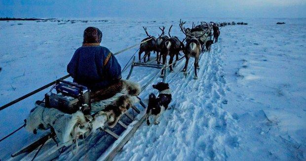 Na Sibiři klesá teplota až k minus padesáti stupňům. Krása zdejší přírody je ale dechberoucí