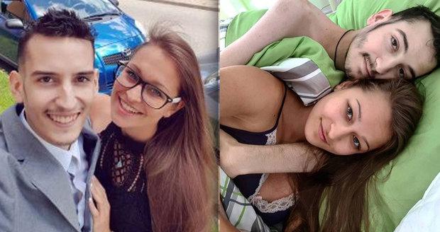 Srdceryvná zpověď přítelkyně Petra Hübela (†24): Tak moc mi chybí, pořád jen pláču
