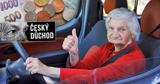 Na stáří 30, 50 i 100 tisíc od státu: Přibývá seniorů s extrémně vysokými důchody