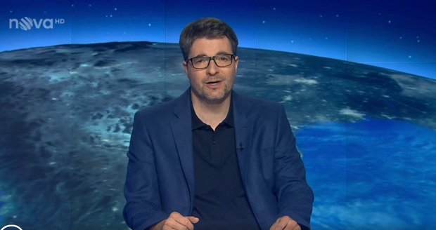 Michal Jančařík po roce zpět za moderátorským pultem na Nově