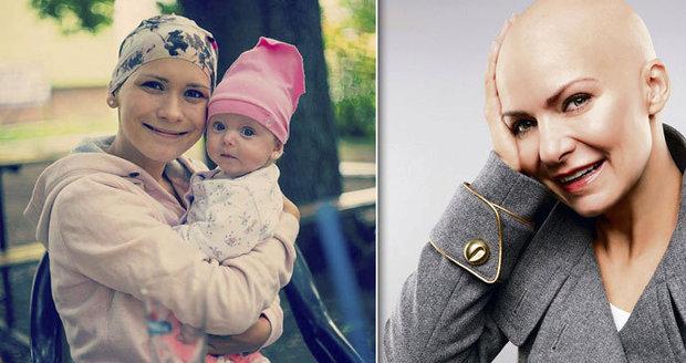 Jana, která přeprala v těhotenství rakovinu, znovu v nemocnici: Pomáhá jí Anna K.