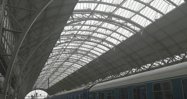 Nová střecha hlavního nádraží v Praze