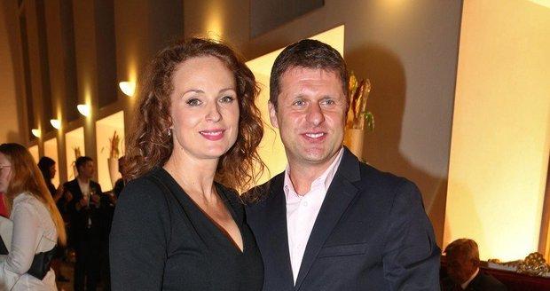 Markéta Hrubešová a Petr Sysel