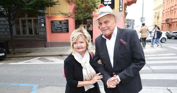 Manželé Jan Přeučil a Eva Hrušková