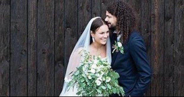 Ewa se za Martina Chobota provdala před třemi týdny.