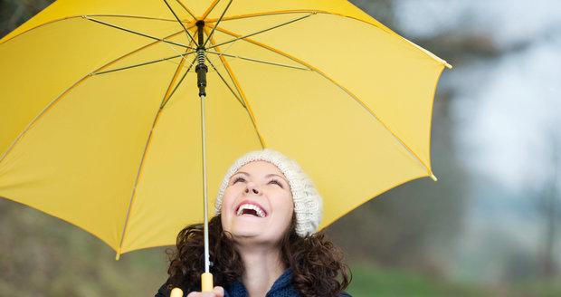 Pravděpodobně nejvíc pršet bude začátkem listopadu.