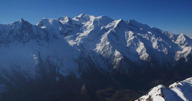 Dva Češi zemřeli v Alpách. Osudným se jim stal horský masiv Mont Blanc