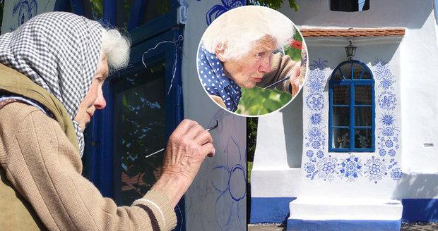 Anežka Kašpárková se starala o kapličku v Louce 40 let.